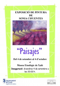 Cartell Expo Sonia Cifuentes