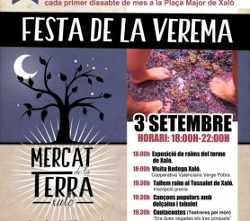 Mercat de la Terra: Farmers Market, Festival of wine and harvesting grapes