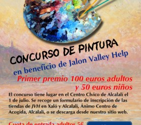 Painting competion Jalon Valley Help