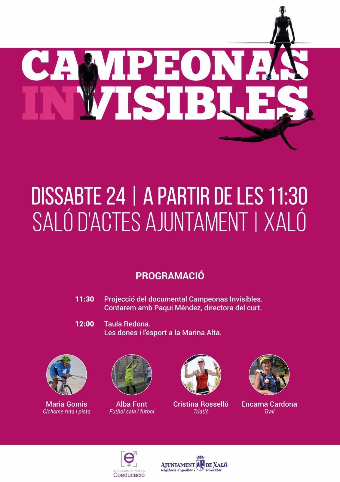 "Documental ""Campeonas invisibles"""