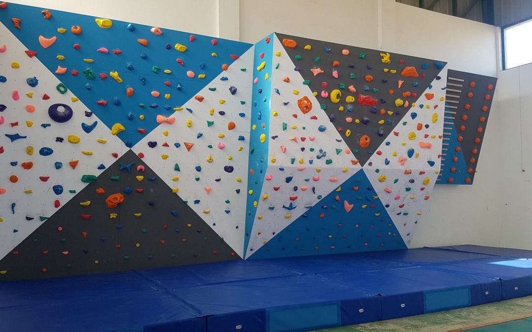 XALÓ OFFICIALLY OPEN THE INDOOR CLIMBING WALL
