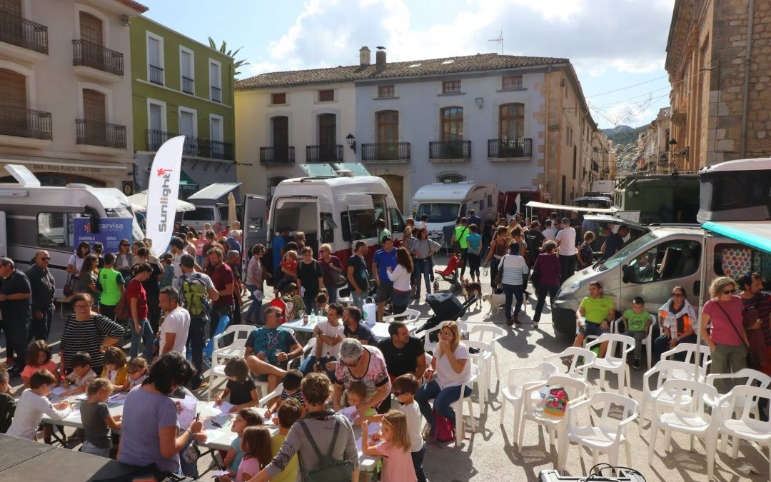 More than 5.000 people visited the BèrniaFest in Xaló on 1-3 November 2019.