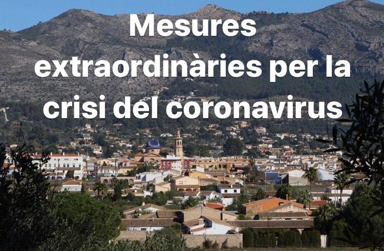 Extraordinary measures for the coronavirus crisis