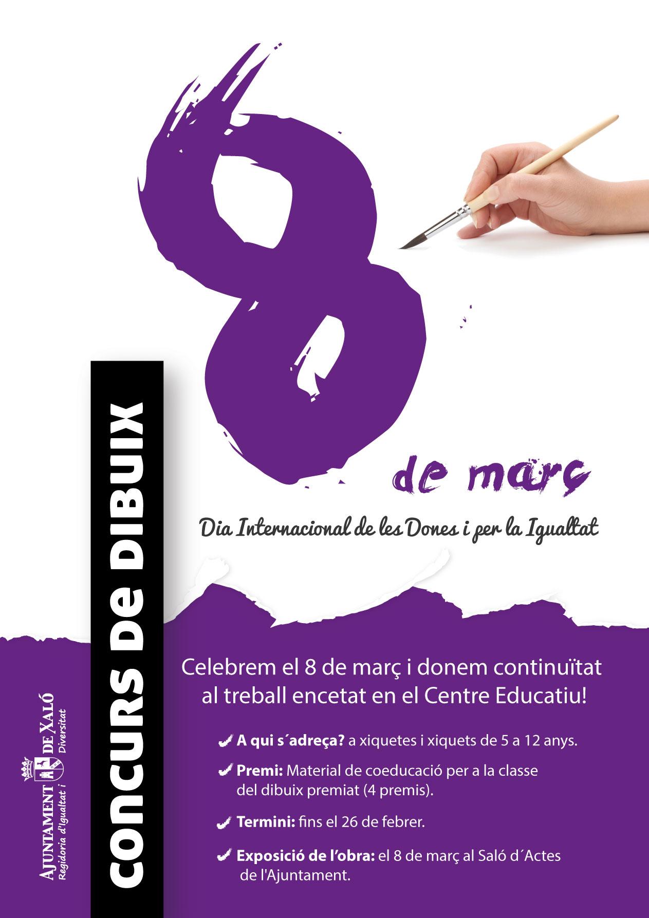 CONCURSO DE DIBUJO «8 DE MARÇ»