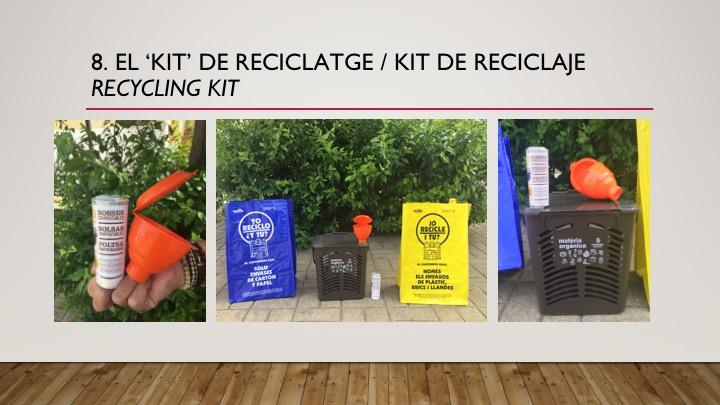Nuevo kit de reciclaje selectivo