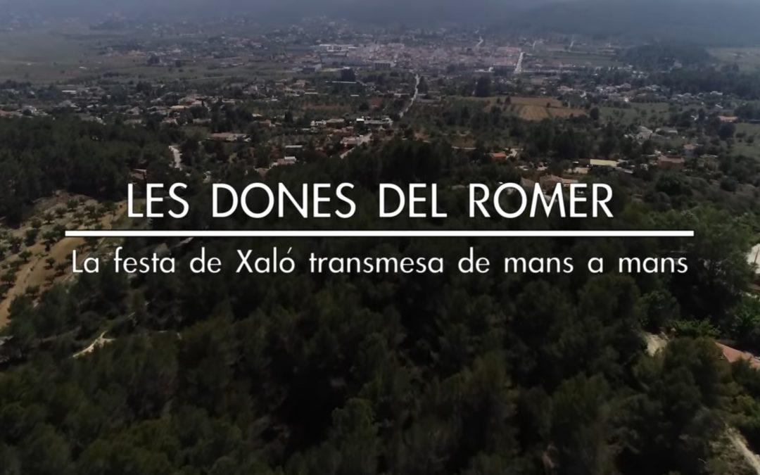 La escuela de Xaló rinde homenaje a «Les dones del Romer»