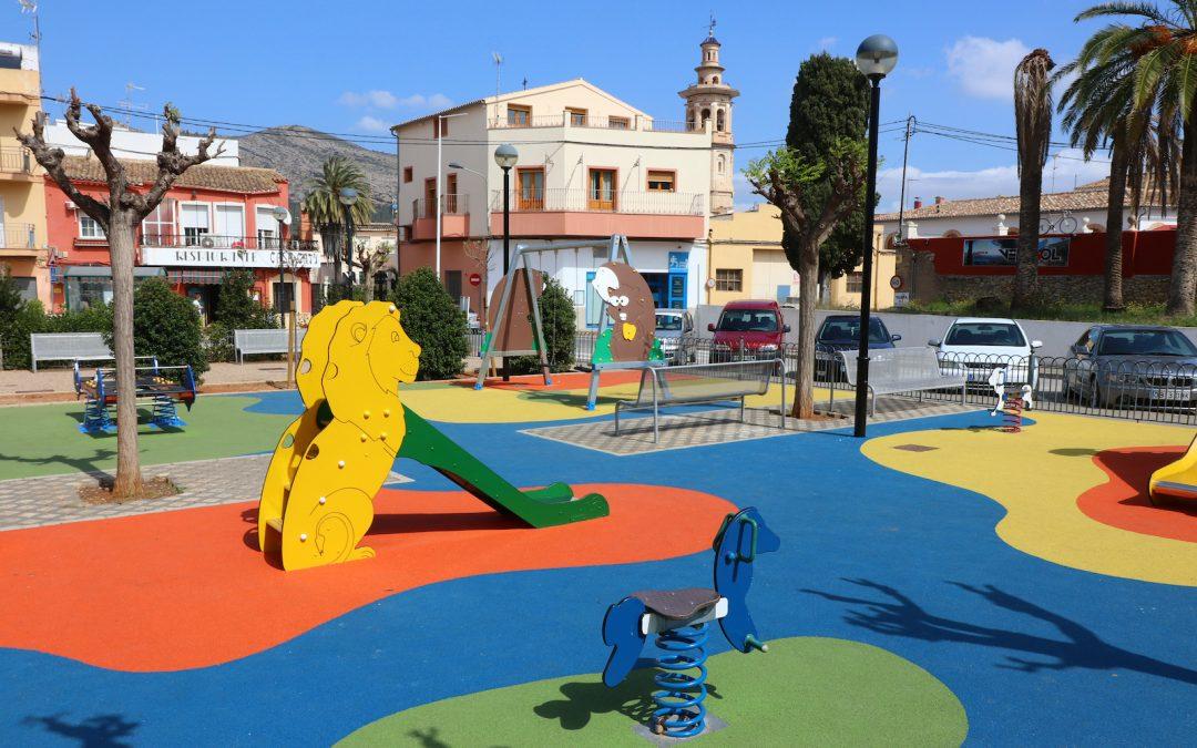 El dilluns es reobrin els parcs infantils de Xaló