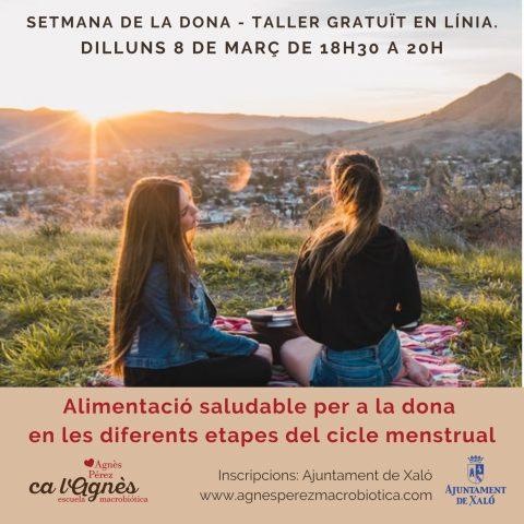 ALIMENTACIÓ SALUDABLE DONA