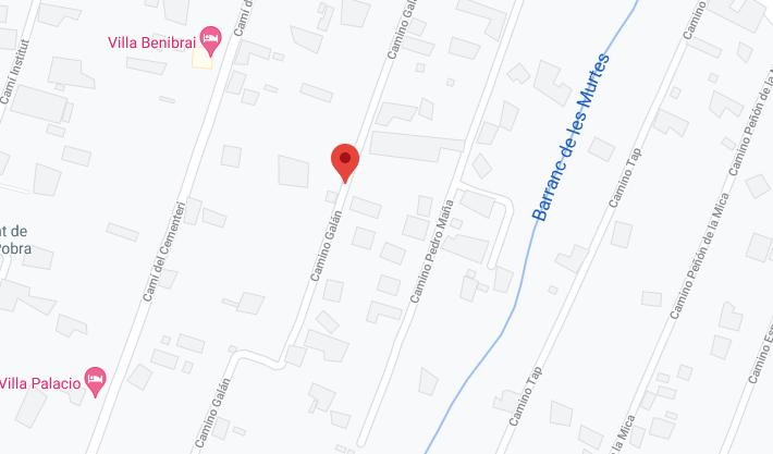 Anuncio de licitación y documento de pliegos del proyecto de ejecución de la red de saneamiento en los caminos de Ladislao, Galán y de parte del Camino del Cementerio