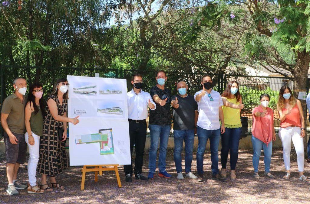 Educació inicia la construcció del nou institut-escola de Xaló este juliol